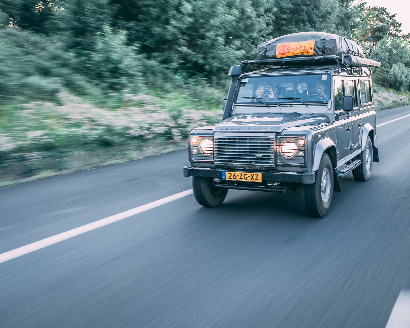 Land Rover Adventure Deal